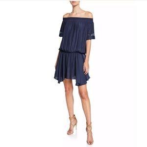 Ramy Brook Jessica Off The-Shoulder Mini Dress XS